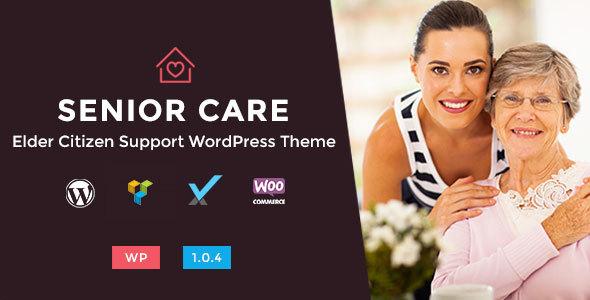 Senior Care - Elder Citizen Support WordPress Theme - Health & Beauty Retail