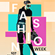 Fashion Week Flyer Template 2