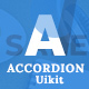 Advanced Accordion For Uikit Framework
