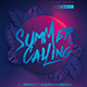 Summer Calling Party Flyer - GraphicRiver Item for Sale