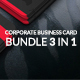 Business card Bundle 3 in 1 - GraphicRiver Item for Sale