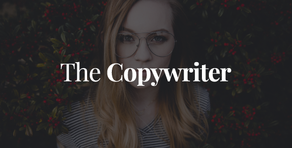 The Copywriter | Simple, Minimalistic, Clean and Professional HTML5 Theme - Portfolio Creative