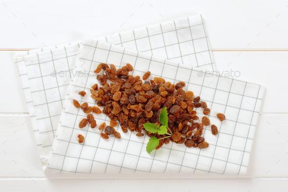 pile of sweet raisins - Stock Photo - Images