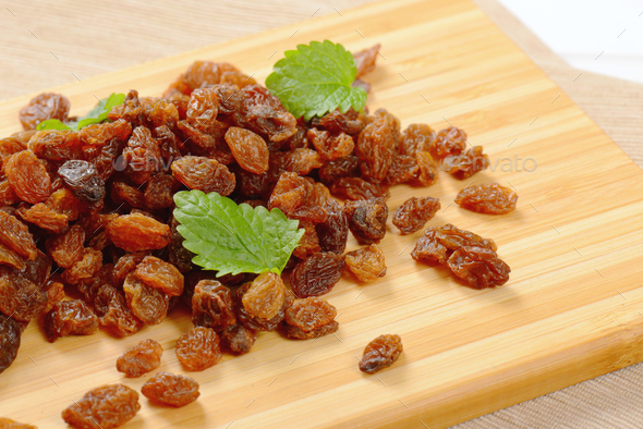 pile of sweet raisins - Stock Photo - Images