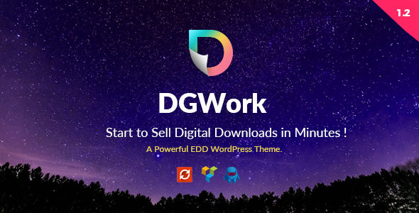 DGWork - Powerful Responsive Easy Digital Downloads Theme