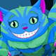 Cheshire Cat Jumping - GraphicRiver Item for Sale