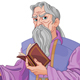 Wizard with Book - GraphicRiver Item for Sale