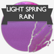 Light Spring Rain