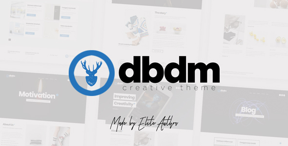 Image of Dubidam - Creative Multi Concept & One Page Portfolio Theme