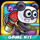 Jetpack Panda Game Assets 21 - GraphicRiver Item for Sale