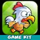 Chicken Run Platformer Game Assets 17 - GraphicRiver Item for Sale