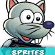 Rat Warrior Game Character Sprites 227 - GraphicRiver Item for Sale