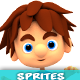 4 Directional 3D Style Game Character Sprites 03 - GraphicRiver Item for Sale