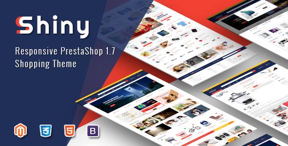 Shiny - Responsive Magento 2 Marketplace Theme - Shopping Magento