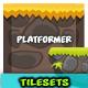 2D Game Platformer Tilesets 24 - GraphicRiver Item for Sale