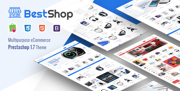 Image of BestShop - Responsive PrestaShop 1.7 Digital/Furniture Store Theme