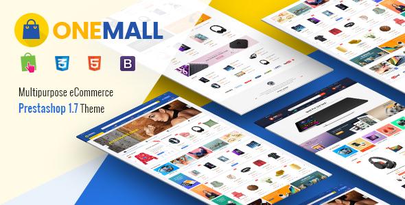 OneMall - Responsive PrestaShop 1.7 Multipurpose Theme - Shopping PrestaShop