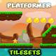 Rocky Place Game  Platformer Tilesets 22 - GraphicRiver Item for Sale