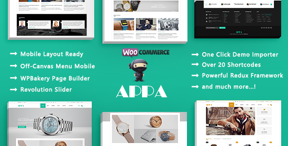 Appa – Modern Electronics Responsive WooCommerce WordPress Theme