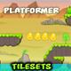 Landscape Platformer Game Tilesets 20 - GraphicRiver Item for Sale