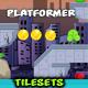 Destroyed City Game Platformer Tilesets 19 - GraphicRiver Item for Sale