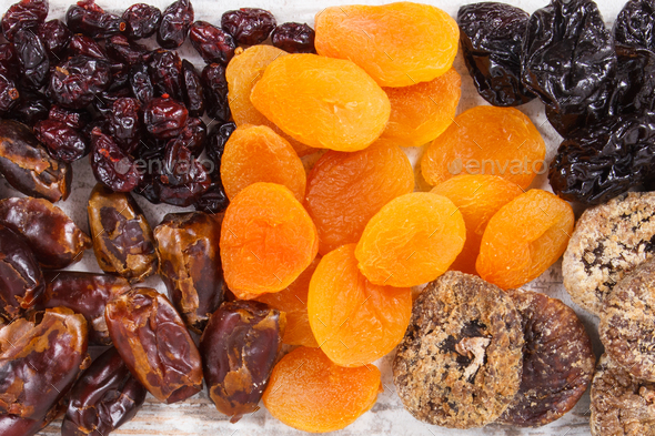 Ingredients containing natural minerals, vitamins and dietary fiber - Stock Photo - Images