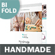 Handmade Shop Bifold / Halffold Brochure - GraphicRiver Item for Sale