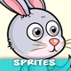 Rabbit 2D Game Character Sprites 163 - GraphicRiver Item for Sale