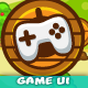 Wooden Cartoon Game Ui Pack 03 - GraphicRiver Item for Sale