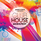 Club House Music Fest Flyer Template - GraphicRiver Item for Sale