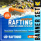 Rafting Banner - GraphicRiver Item for Sale