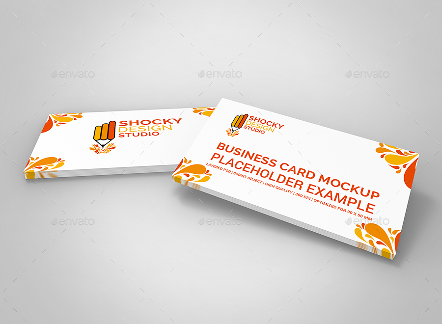 Business Card Mockup by shockydesign | GraphicRiver