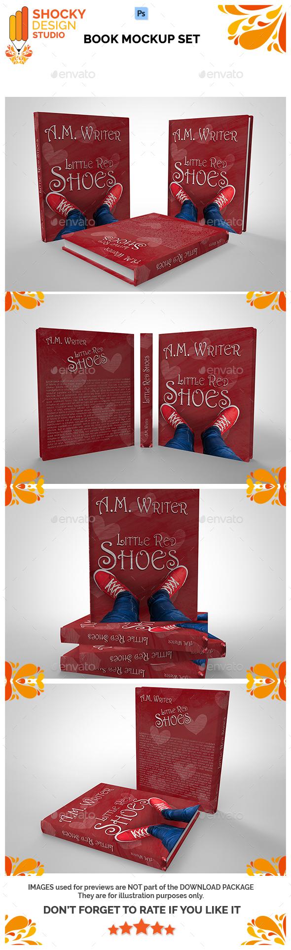 Book Mockup Set - Books Print