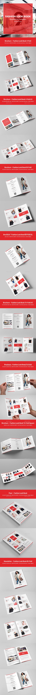 Fashion Look Book – Brochures Bundle Print Templates 9 in 1 - Informational Brochures