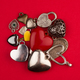 heart shaped jewelry in many colors and sizes - PhotoDune Item for Sale