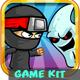 Jack Ninja - Ghost Hunter  Platformer Game Kits - GraphicRiver Item for Sale