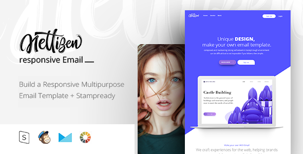 Mail - Responsive Email + StampReady Builder - Email Templates Marketing