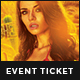 Cinco de Mayo Event Ticket - GraphicRiver Item for Sale