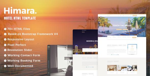 Image of Hotel Himara - Hotel HTML Template