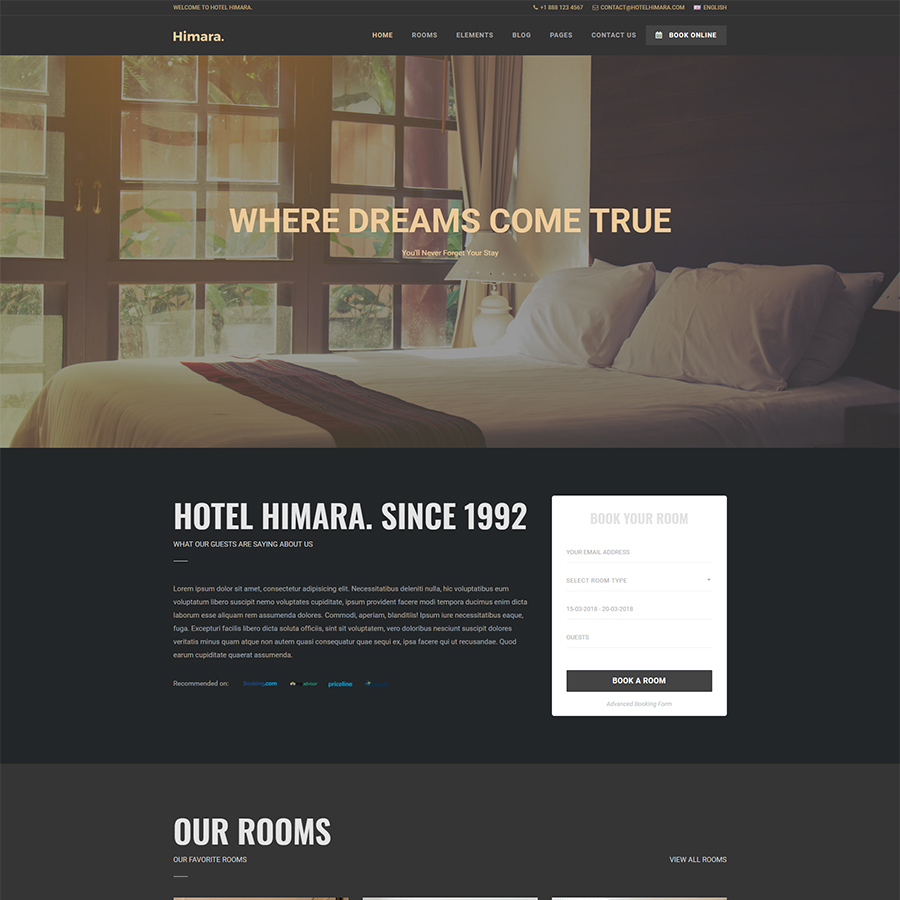 Hotel Himara - Hotel HTML Template by Eagle-Themes | ThemeForest