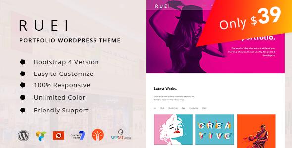 Image of Ruei - Creative Portfolio WordPress Theme