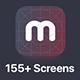 MultiPurpose iOS UI Kit - GraphicRiver Item for Sale