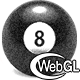 3D WebGL Billiards Pool 8