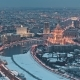 Glass Skyscrapers in Moscow City - VideoHive Item for Sale