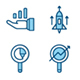Business Success Filled Outline Icon