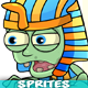 6 Egyptian Zombies 2D Game Character Sprites - GraphicRiver Item for Sale