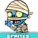 Zombie 2D Game Character Sprites 95 - GraphicRiver Item for Sale