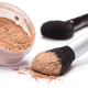 Makeup brush with loose cosmetic powder - PhotoDune Item for Sale