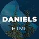 Daniels - One Page Portfolio - ThemeForest Item for Sale