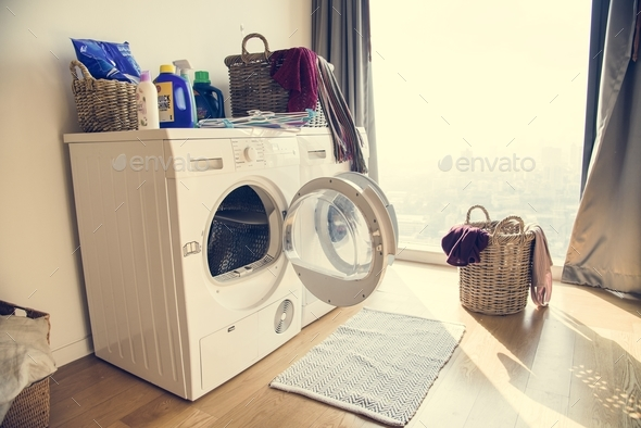 Washing machine - Stock Photo - Images